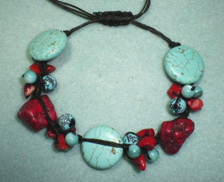 Free Beaded Bracelet Tutorials | Knotty Beaded Bracelet – Video ...
