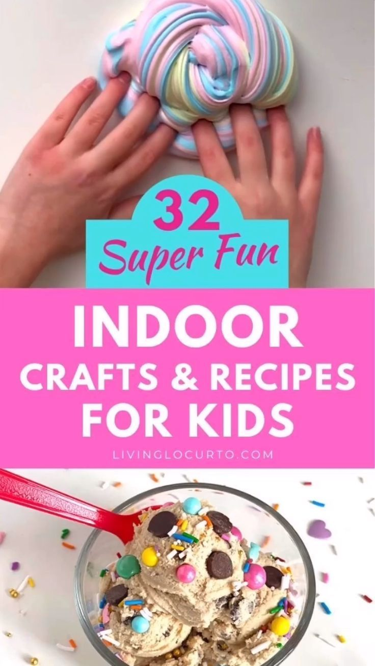 32 indoor crafts for kids in 2020 easy crafts for teens