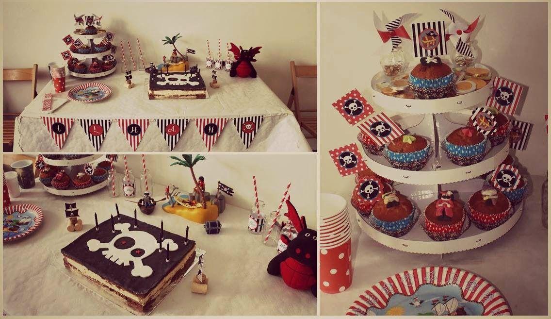 Le Candy Bar : Un anniversaire thème Pirate