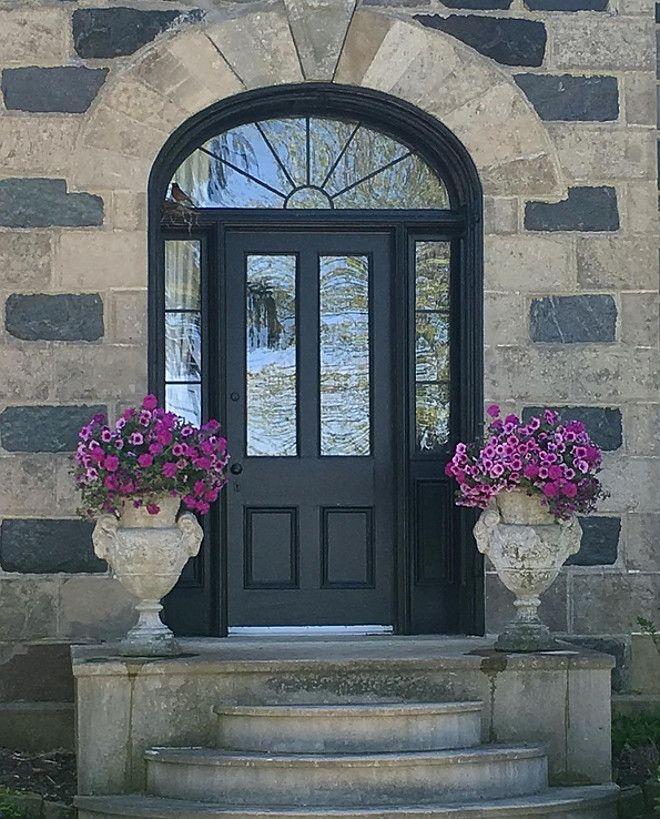 Front Door Is Black Cat From Beauti Tone Home Hardware Black Door