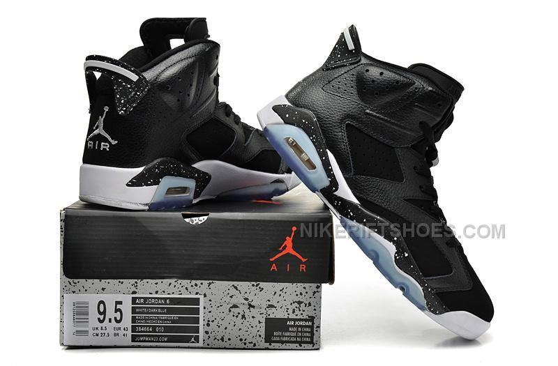 "save off 124be aa2df Air Jordan 6 (VI) Retro ""Black Oreo"" Black White-Metallic Silver"