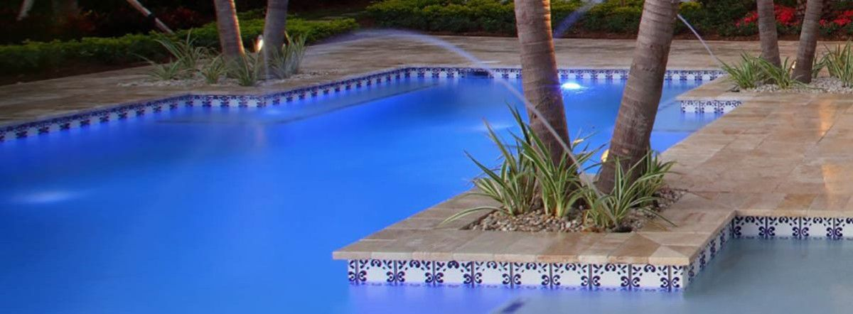 Mexican Tiles For A Swimming Pool Pool Tile Swimming Pool Tiles Swimming Pool Fountains