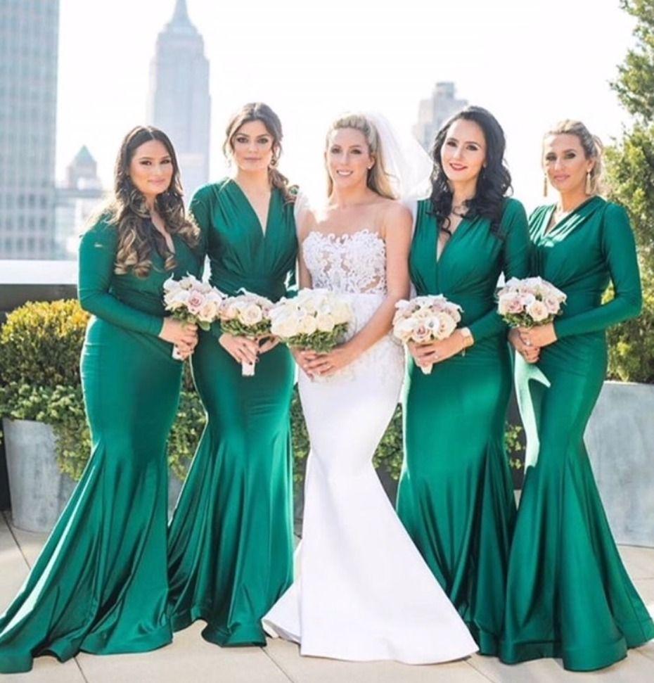 Emerald Green Bridesmaids Dresses By Jessica Angel Bridesmaiddresses Weddingdress Bridalboutique Sayyestothedress Ad: Emerald Green Summer Wedding Dresses At Websimilar.org