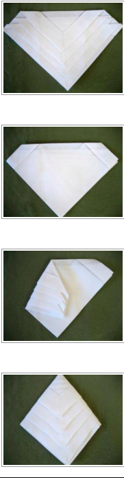 Step by step tutorial on folding the very easy diamond arrow linen step by step tutorial on folding the very easy diamond arrow linen napkin fold junglespirit Images