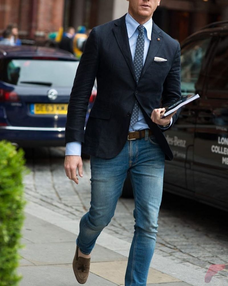 Guide for Men Who Wants to Wear Sport Coat with Jeans | Sport coat
