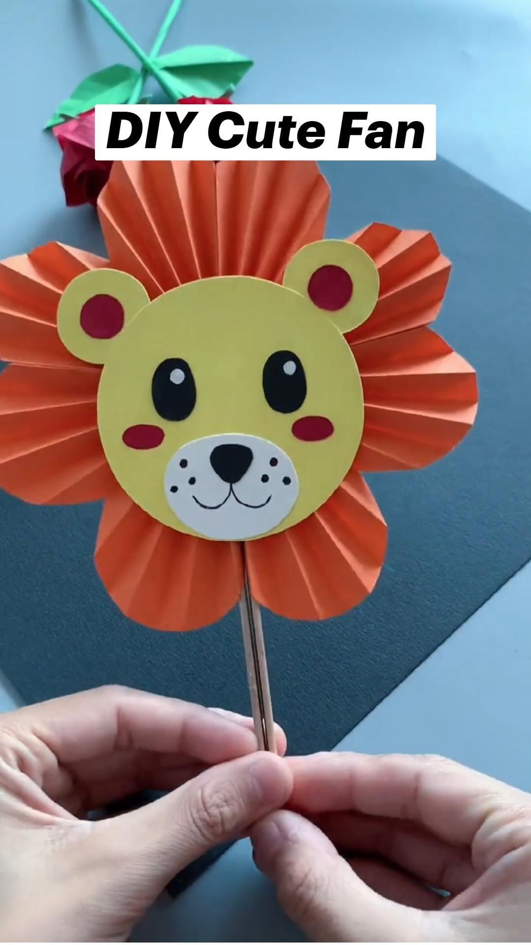 DIY Cute Fan
