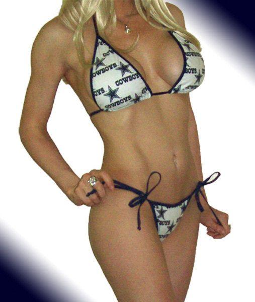 7b544ab164 Dallas Cowboys bikini