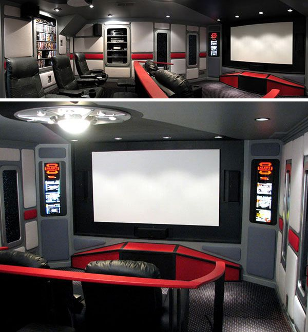 13 Home Theaters We'd Pay To Watch Movies In