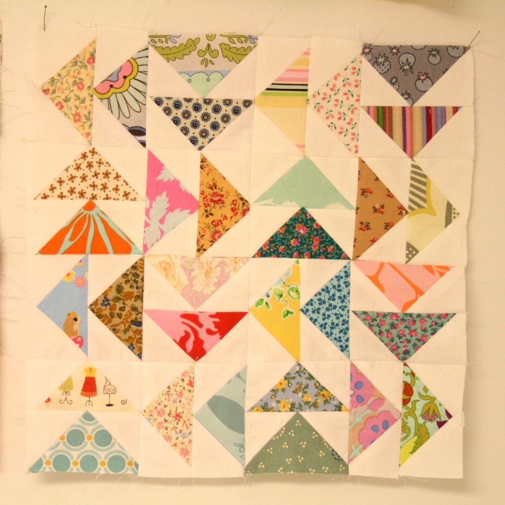 Flying Geese Block Tutorial - Google Drive | Patchwork | Pinterest ...