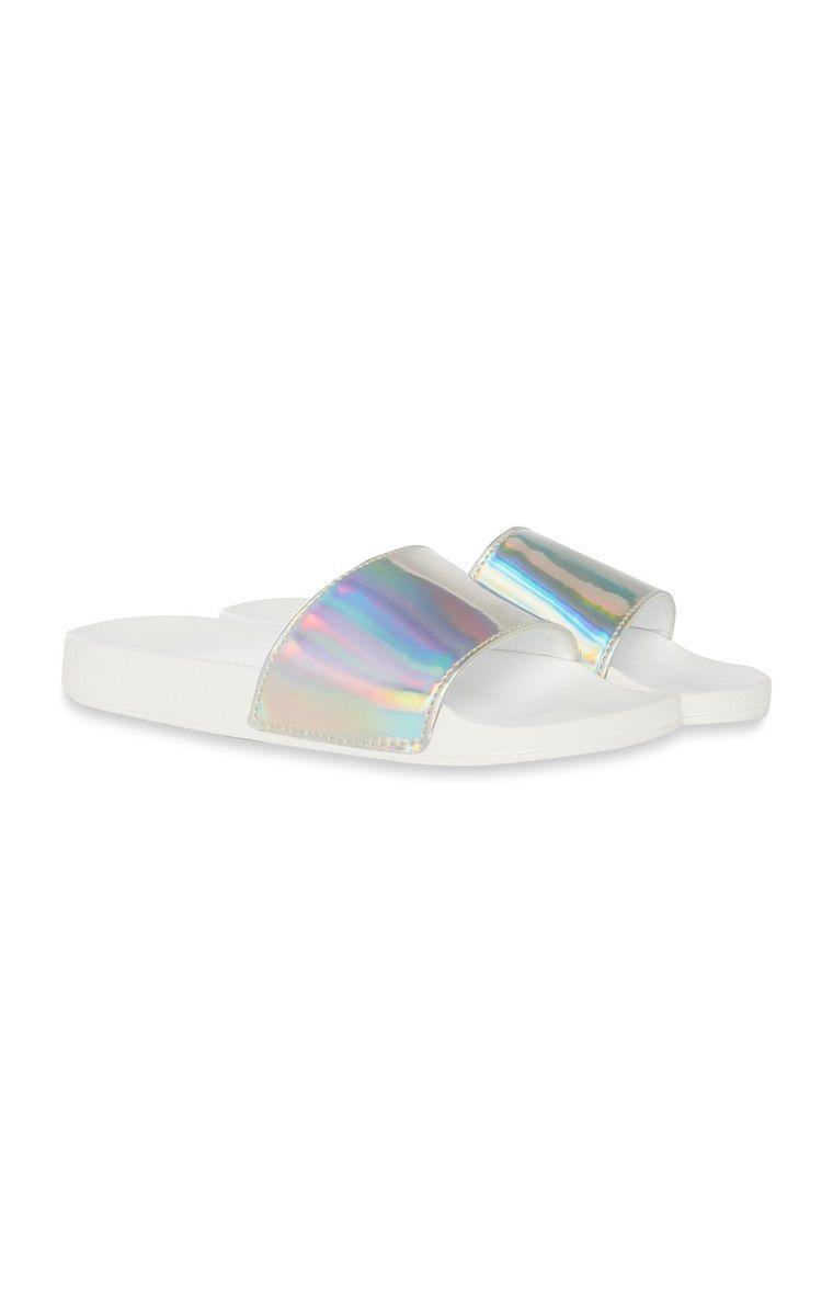 1a282bce2 Metallic slippers