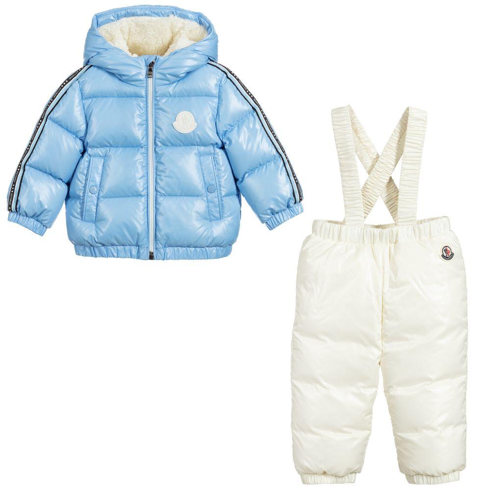 MONCLER ENFANT Boys Down 2 Piece Snowsuit