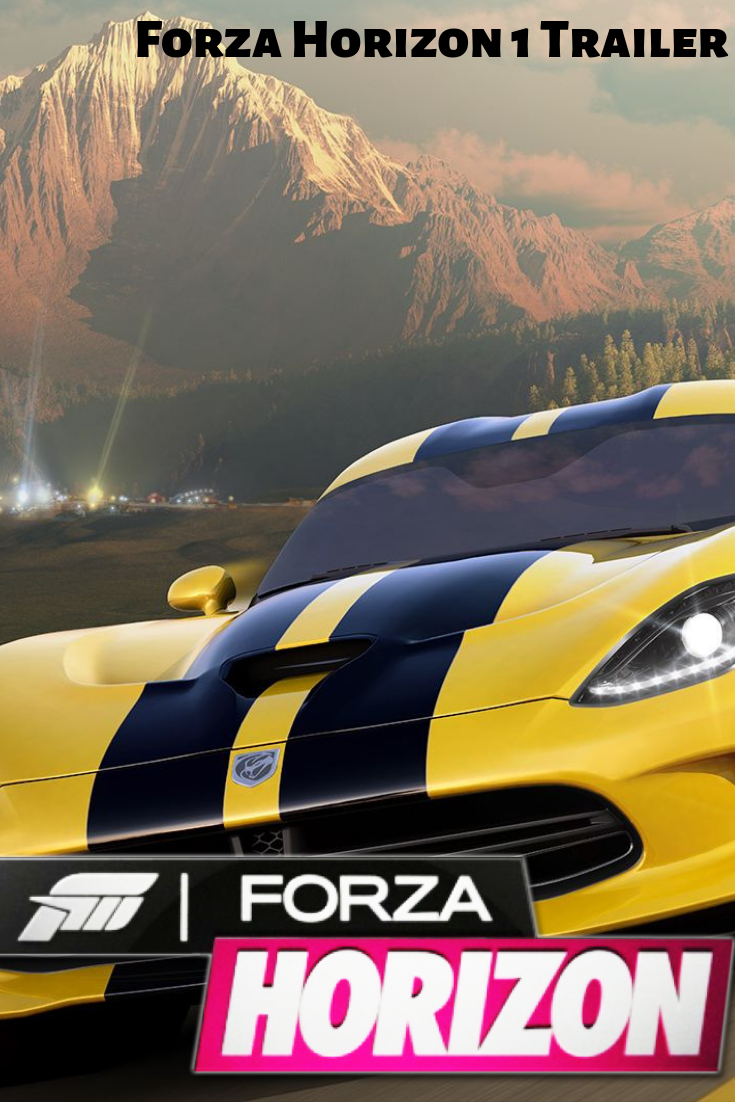 Forza Horizon 1 Trailer 2012 E3 (HD XBOX 360 PC) Forza