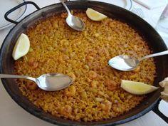 Paella De Marisco Al Horno Paellas Receta Paella De Mariscos Platos De Arroz