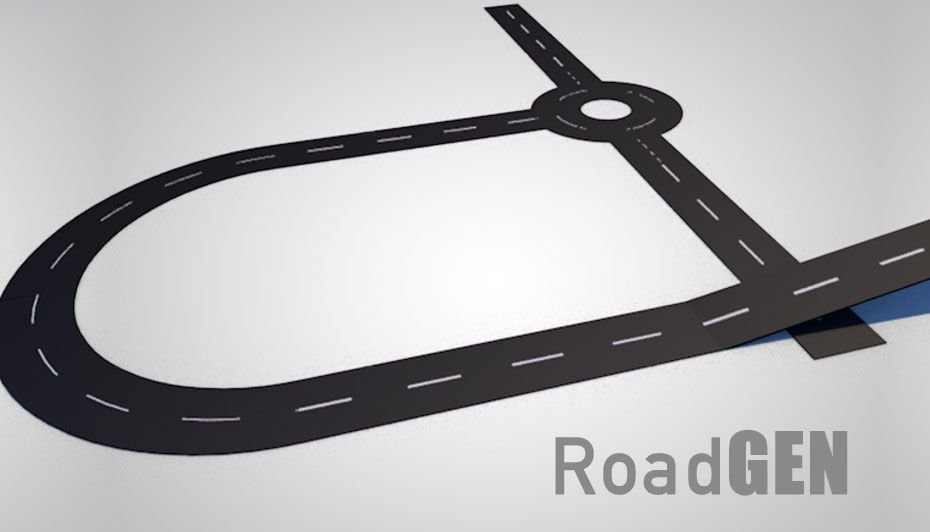 RoadGen is a Character template for generating easy to use