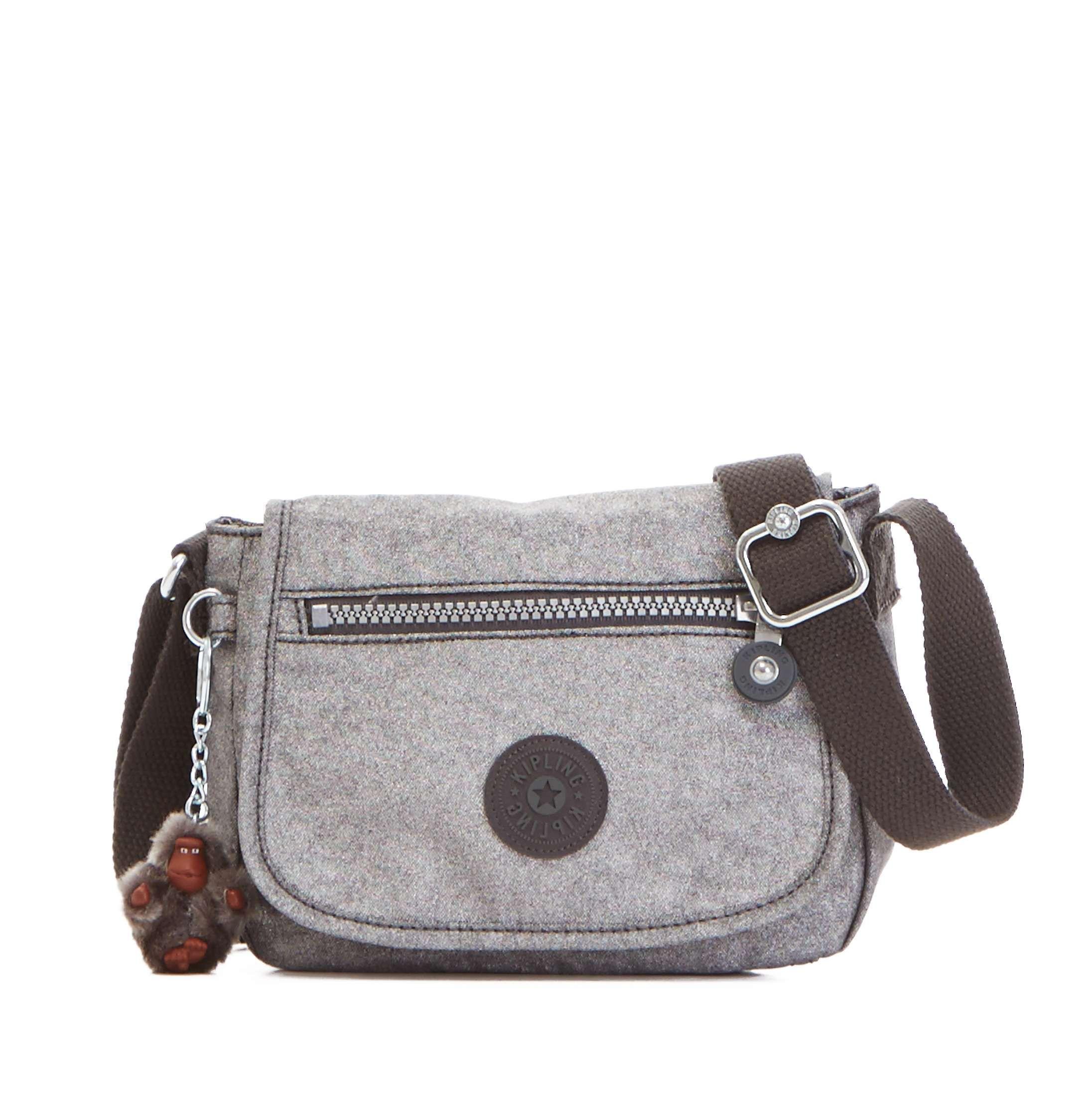 78e889c72537 Sabian Crossbody Metallic Mini Bag - Silver Glimmer