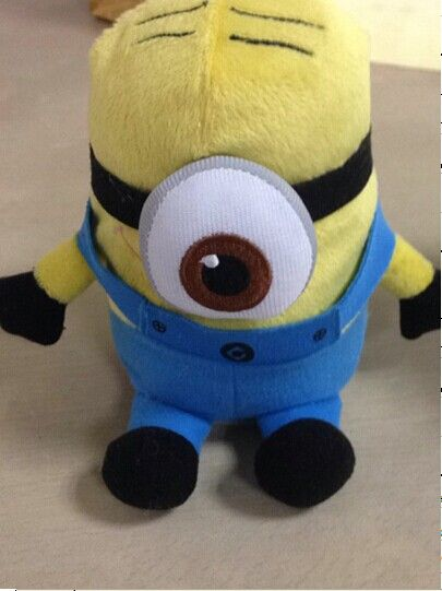 "Despicable Me Talk Back Plush Minion Toy Price: $65.95 ""1. He can repeat what you say in Any language. 2. He can walk. 3 Moves his mouth in a realistic way. 4. Beautiful gift anytime. One of the featured characters from the movie kids love."""
