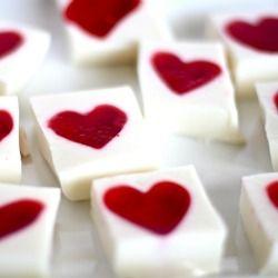 Valentines Jello Hearts!