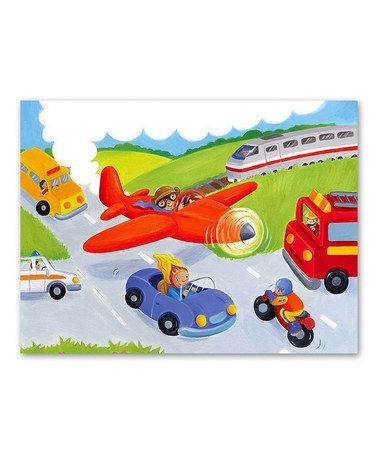Love this Zoom! Zoom! 36-Piece Puzzle on #zulily! #zulilyfinds