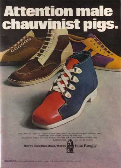 Hush Puppies 1971 Seriously A 70s Ad Thoughts Shoes