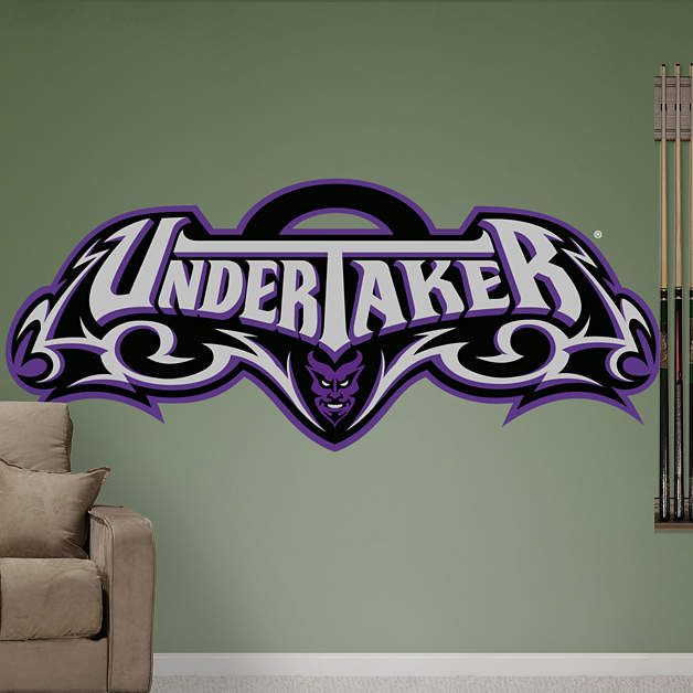 Under Taker Wrestling Quotes Vinyl Wall Art Decor Sticker for Home Room Decals