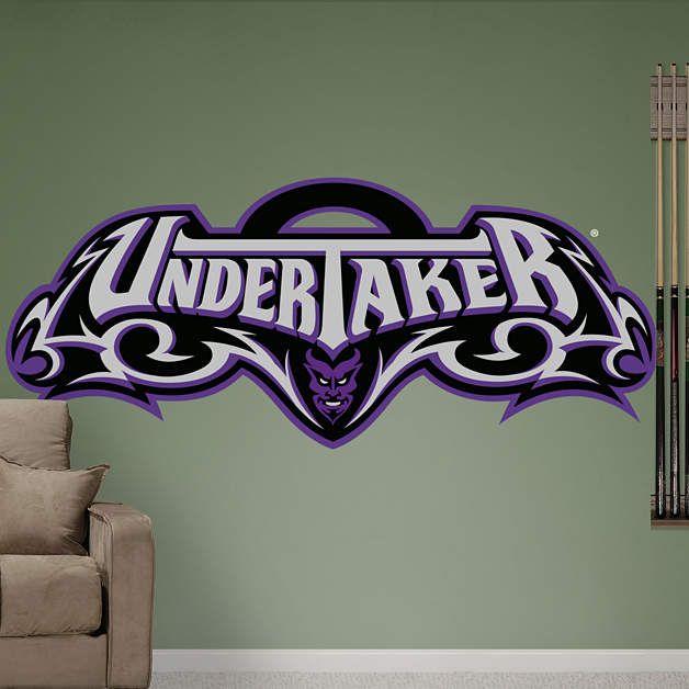 Undertaker Logo Fathead Wall Decal Part 98