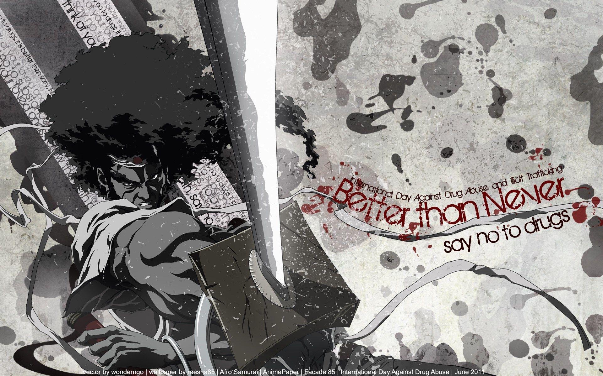 Afro Samurai Wallpaper Free 619 KB