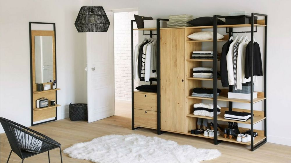 choisir son dressing ouvert ou ferm m6 dressing pinterest dressing ouvert dressing. Black Bedroom Furniture Sets. Home Design Ideas