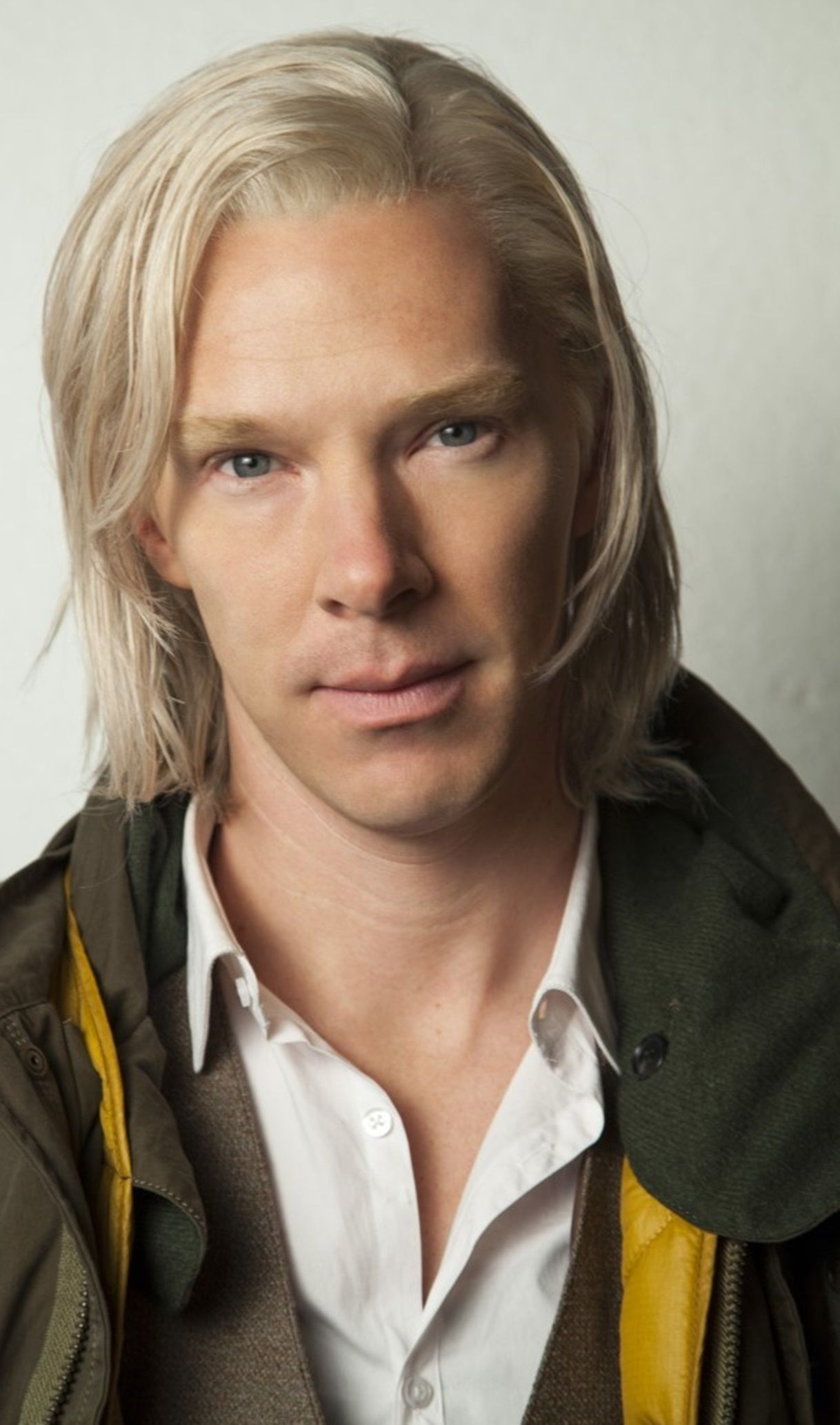 Benedict Cumberbatch Delicious As A White Blond Too This Man