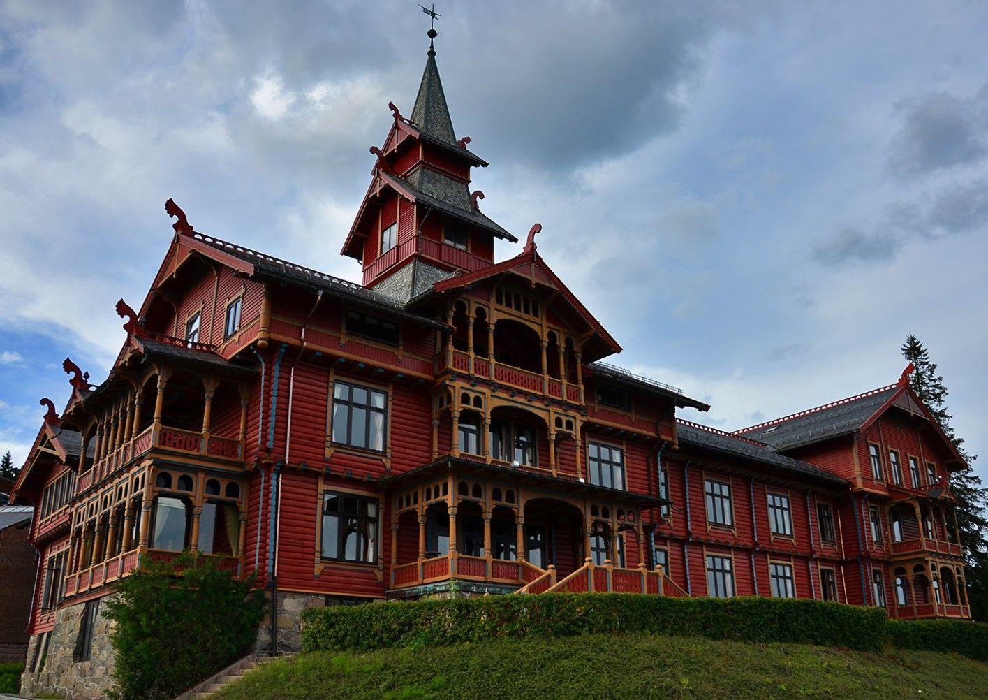 Fabelaktig Scandic Holmenkollen Park Hotell, Oslo | Travel & Places | Park TB-77