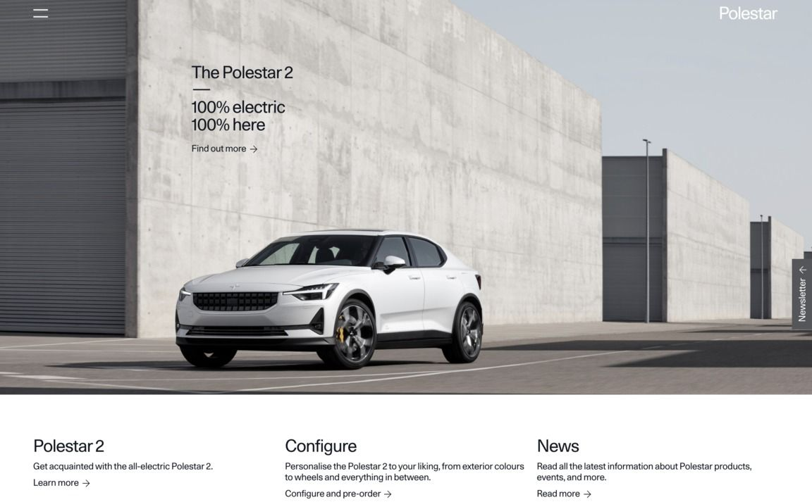 Polestar Volvo, Pole star, Electric cars