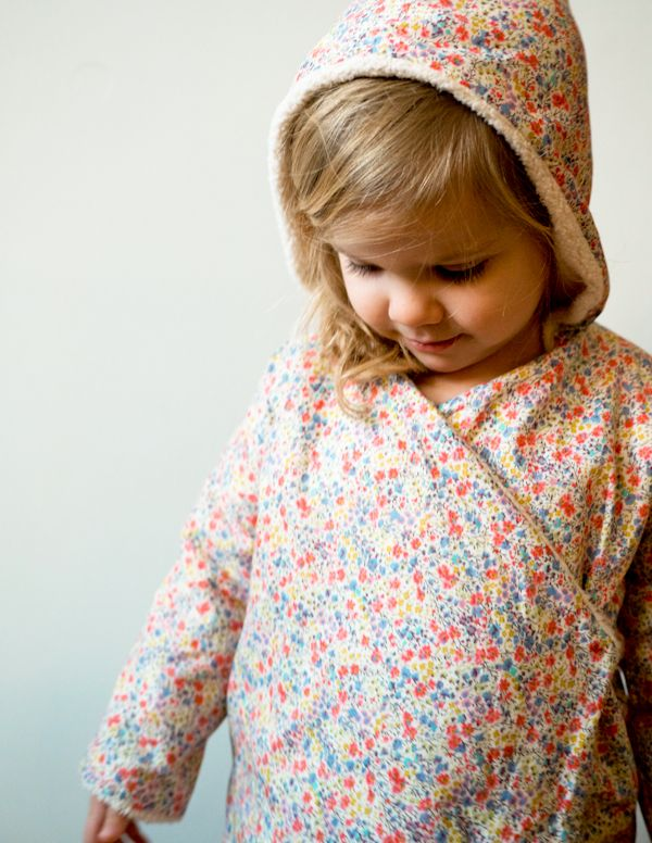 Corinne's Thread: Purl Soho Kid's Robe - The Purl Bee - Knitting Crochet Sewing Embroidery Crafts Patterns and Ideas!