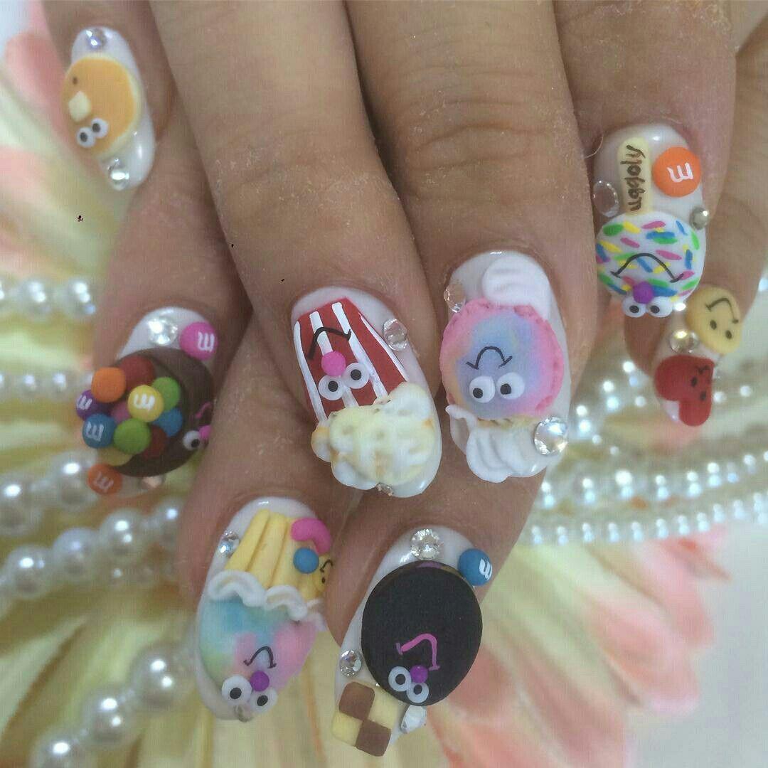 Perfect Cute Kawaii Nails Image Collection - Nail Art Design Ideas ...