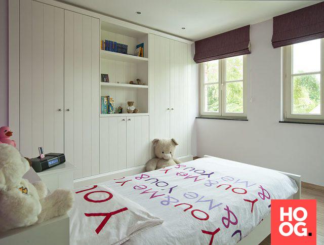 Kinder slaapkamer met op maat gemaakte kasten | slaapkamer ideeën ...