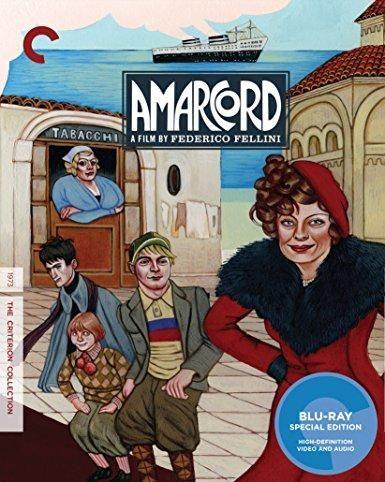 Pupella Maggio Armando Brancia Federico Fellini Amarcord