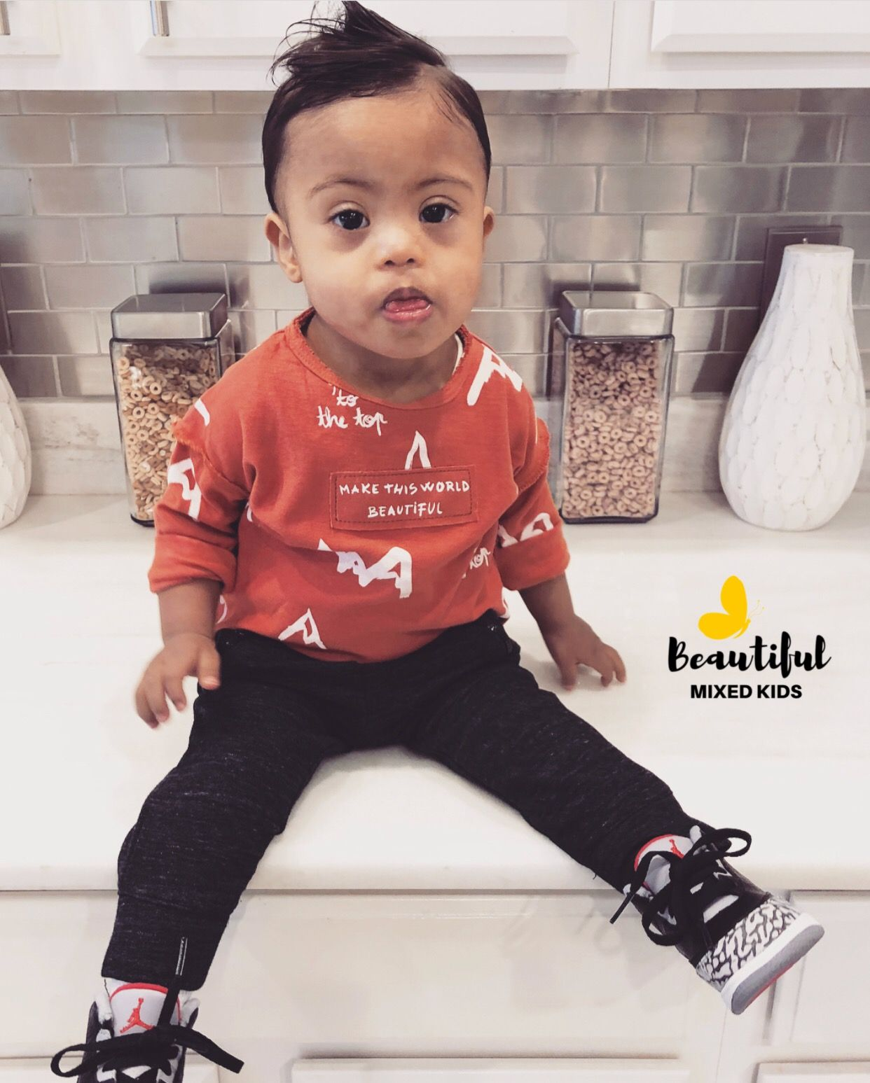 Zolan james 17 months • african american mexican ♥ beautiful baby