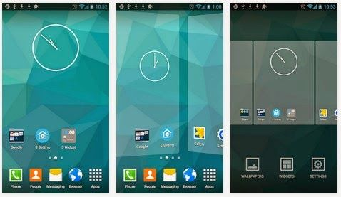 S8 Galaxy Launcher APK Mod android www Galaxy s8