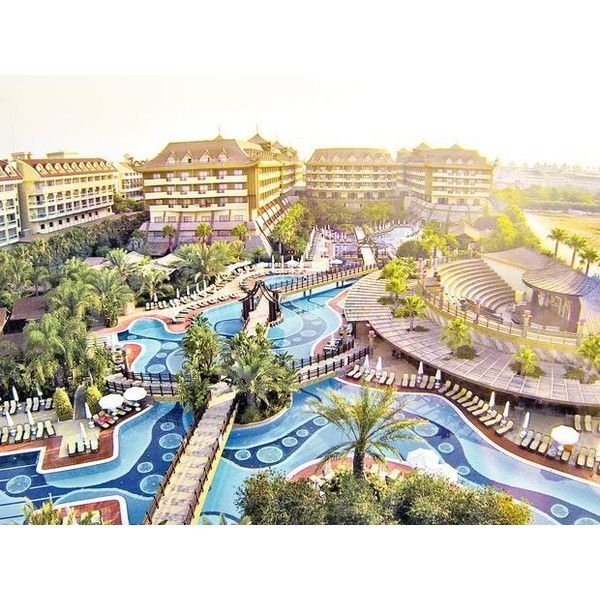 Royal Dragon Hotel Colakli Nr Side Antalya Turkey Thomas Cook Liked On Polyvore Featuring Home And Kitchen Dining Resort Pools Antalya Dream Holiday