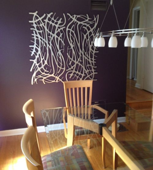 Metal wall art ideas for dining room | Home Accents | Pinterest ...