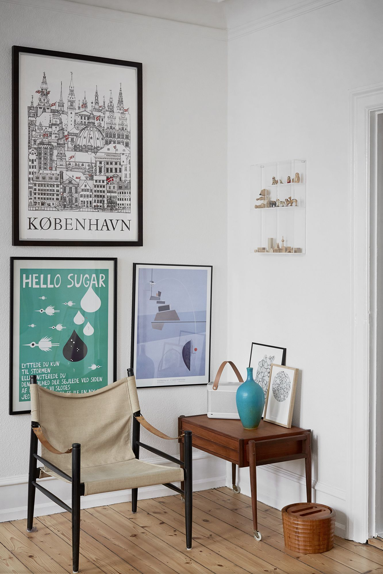 Danish Home With New And Old Design Classics