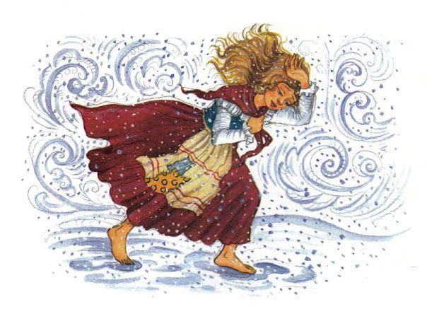 картинка герда из снежной королевы на прозрачном фоне знаю