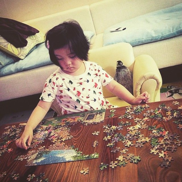 Fly fishing and puzzle solving ❤️ In Skylar Luna