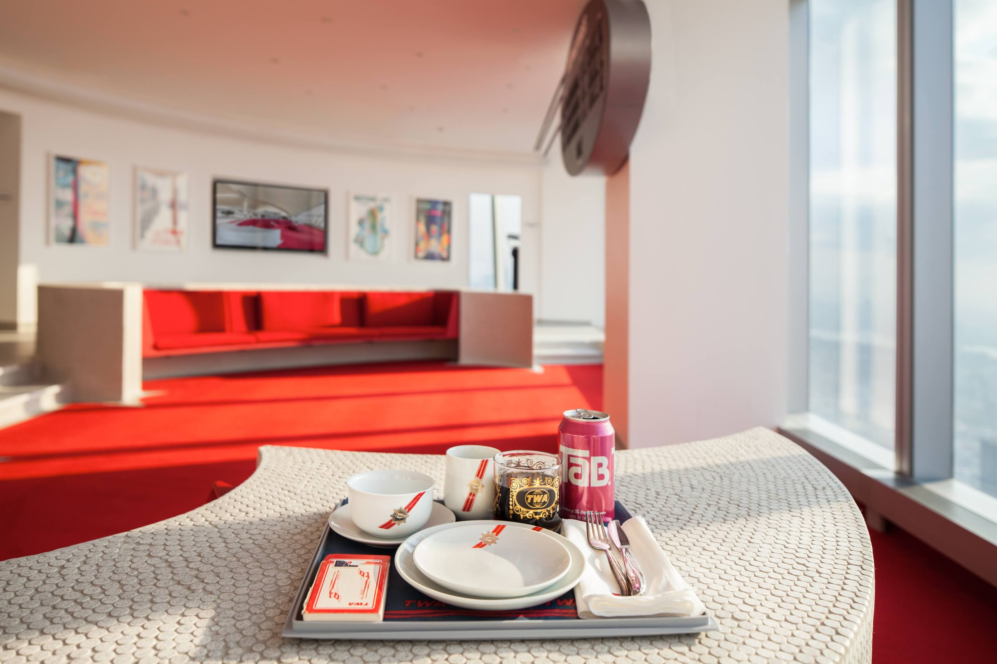 Lubrano Ciavarra Architects Jet Age Architecture Twa One World Trade Center Eero Saarinen Lounge Hotel Mcr Development