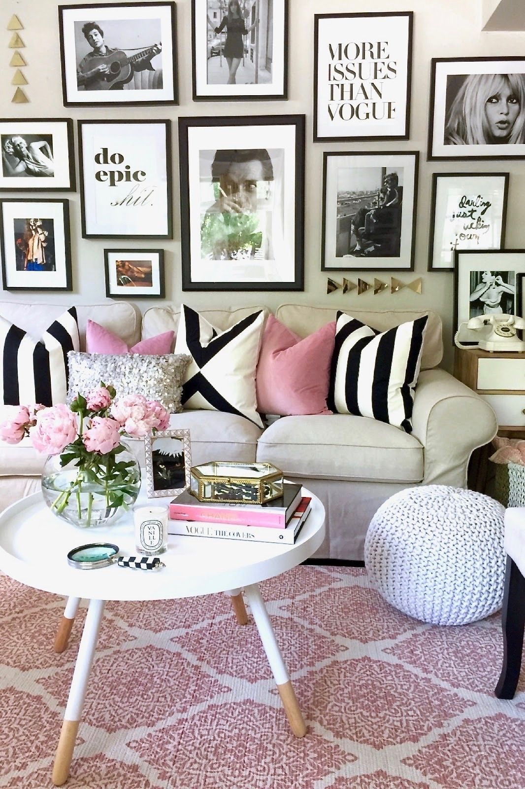 House Pretty in Pink An Apartment Refresh