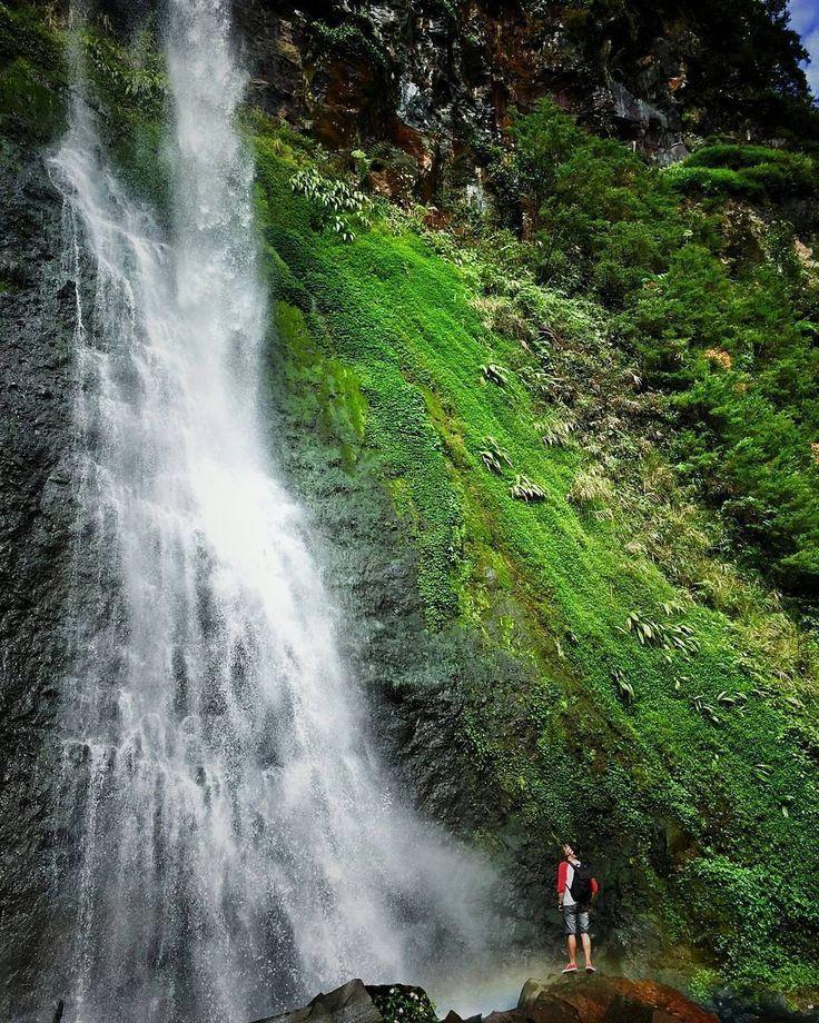 Curug Cibeureum (Cibeureum Waterfalls) located in Cibodas