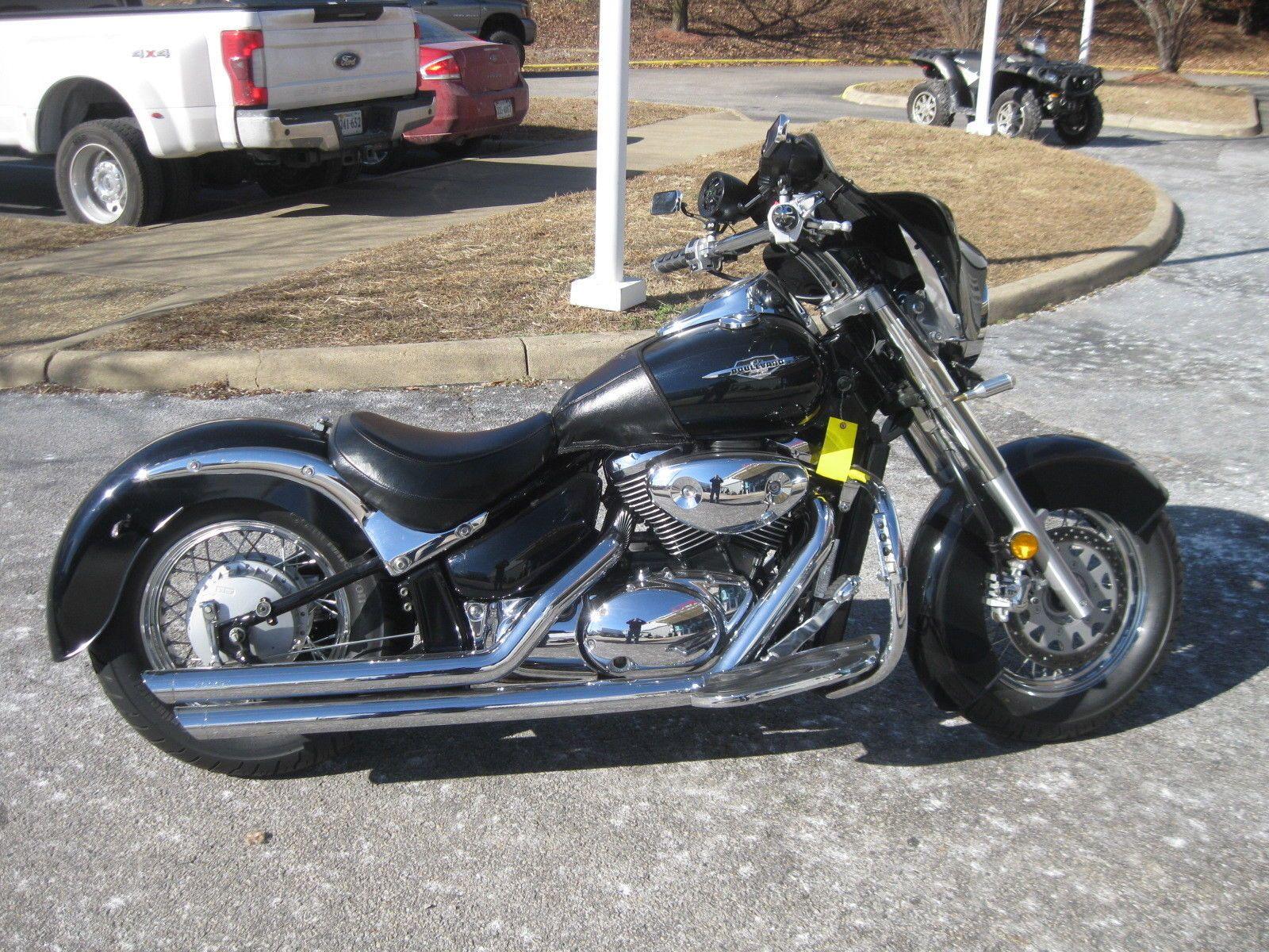 2005 Suzuki Boulevard Suzuki Boulevard Riding Motorcycle Suzuki