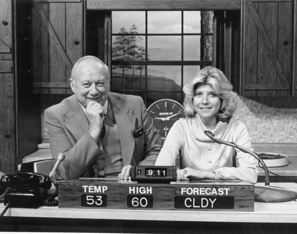 """Outspoken """"Morning Show"""" hosts Harry Thornton and Judy Corn"""