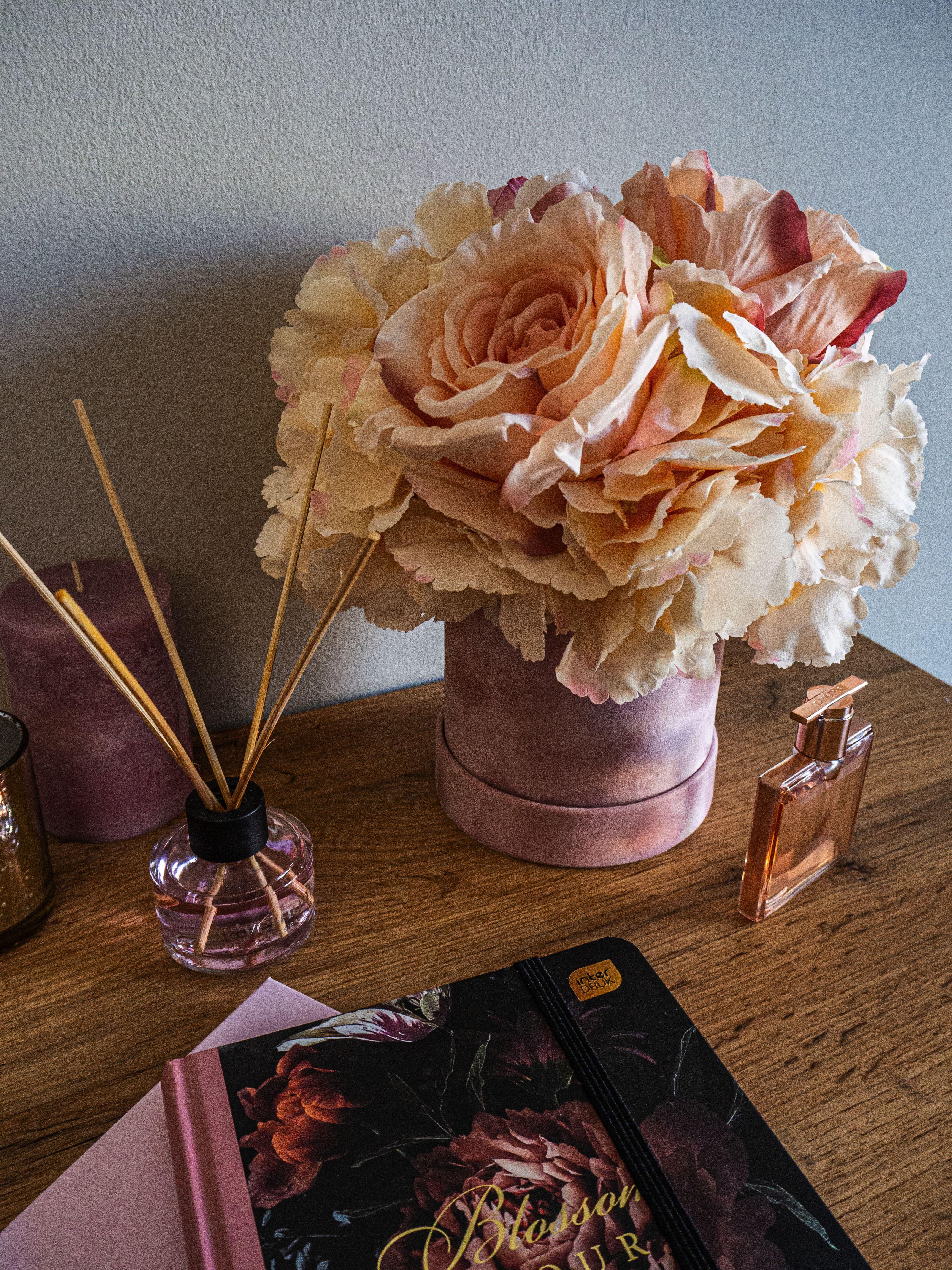 Flower Box Kwiaty W Pudelku Dekoracja Domu Incense