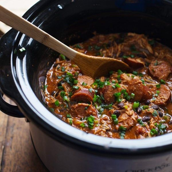 Photo of Slow Cooker Creole Chicken and Sausage – Pinch of Yum