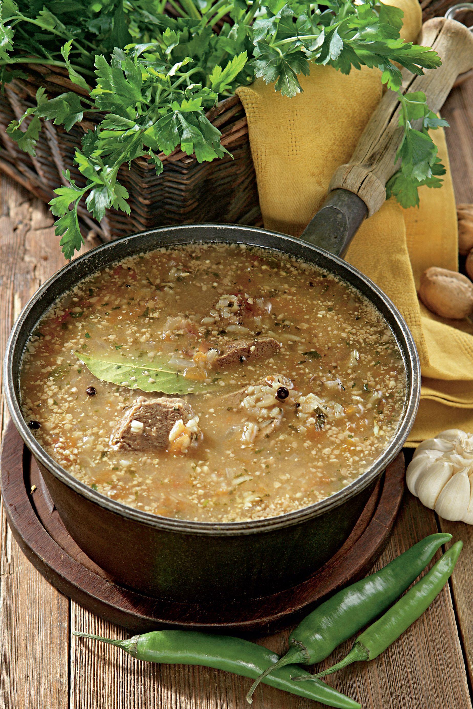 Суп Харчо по-грузински, пошаговый рецепт с фото | Рецепт ...