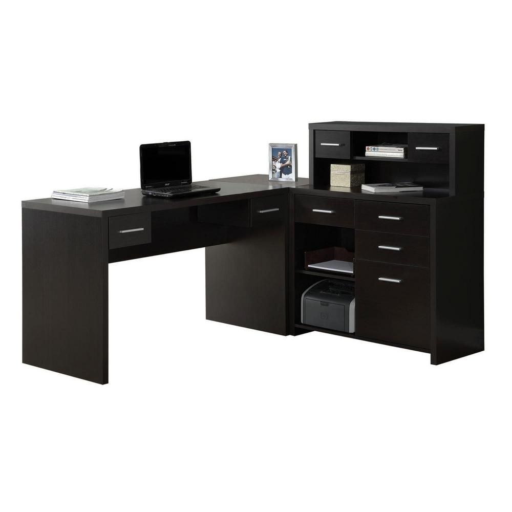 Monarch 2 Piece Cappuccino Office Suite Home Office Furniture